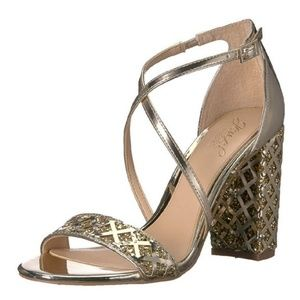 Jewel Badgley Mischka Women's Kathy Heeled Sandal